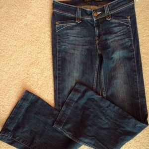 sz 4 27x31 LEVI'S LADY STYLE denim Boot Cut jeans